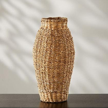 SERRV Tall Hogla Vase