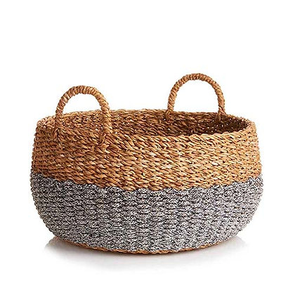 Large Hogla Two-Tone Basket