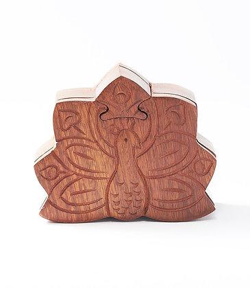 Peacock Puzzle Box