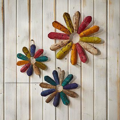 Rustic Wallflowers - Set of 3