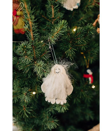 Snow Yeti Ornament