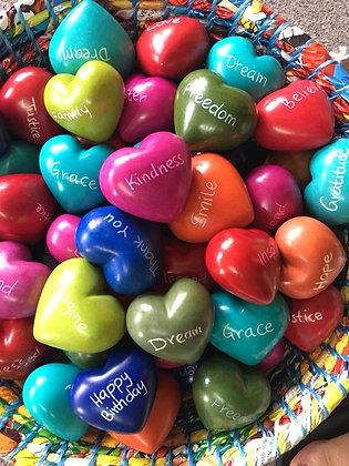 Kissi Word Hearts