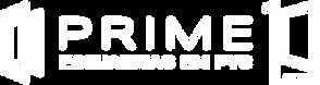 Selo Prime 10 Anos - Horizontal - Branco