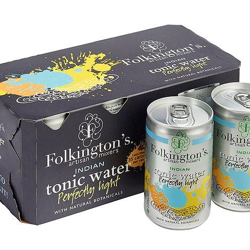 Folkingtons Fridge Pack Perfectly Light Tonic (8 x 150ml)