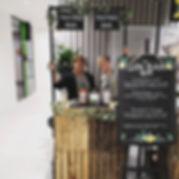 Hump-day hangout at the Tasting Bar 😏__