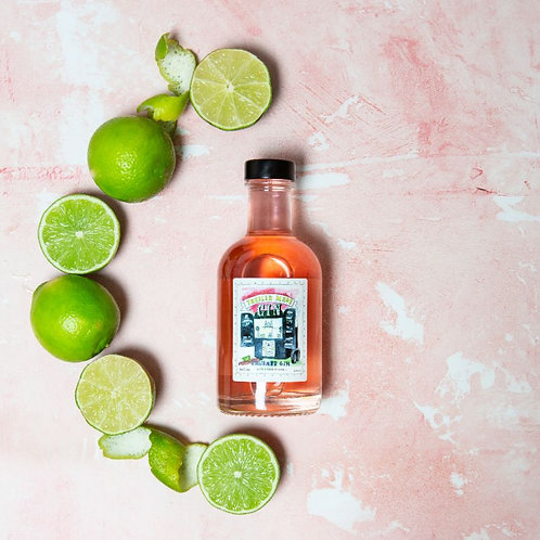 Trailer Made Rhubarb Gin with a Twist of Lime - 20cl Bottle