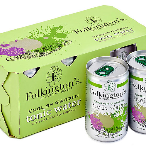 Folkingtons Fridge Pack English Garden (8 x 150ml)