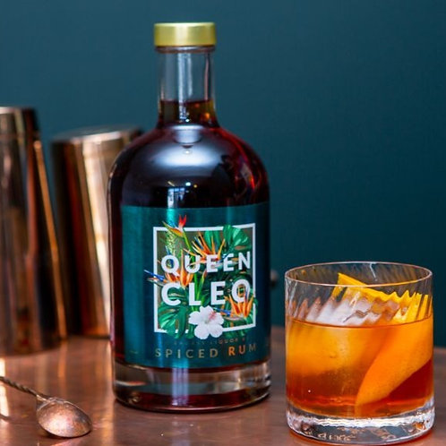 Queen Cleo Spiced Rum - 70cl Bottle