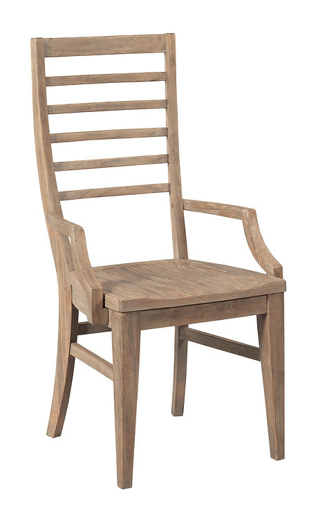 CANTON LADDER BACK ARM CHAIR