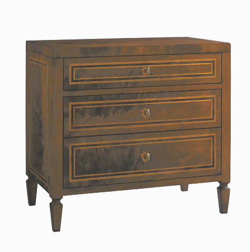 BASEL 3 DRAWER LAMP CHEST
