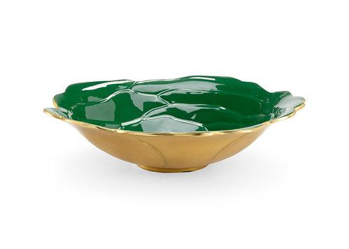 Green Enameled Bowl (Lg)