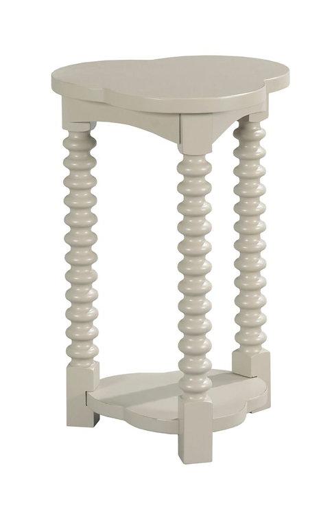 Trifoil Spot Table-Gray