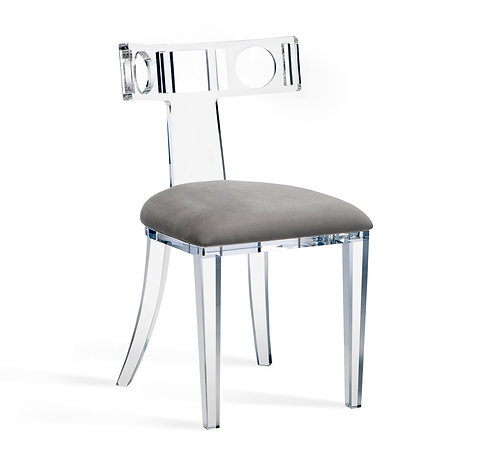 Ardsley Acrylic Klismos Chair
