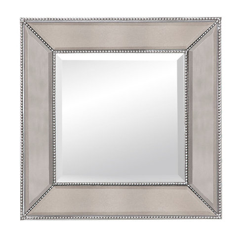 BMIS - Beaded Wall Mirror