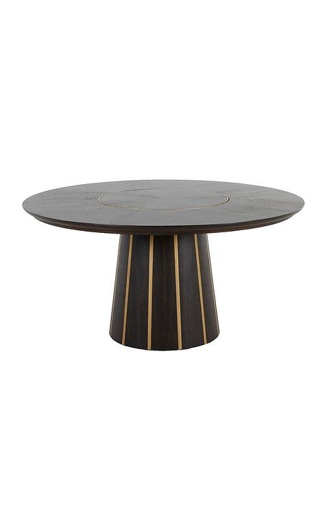 Morgan Dining Table - Dark Chocolate