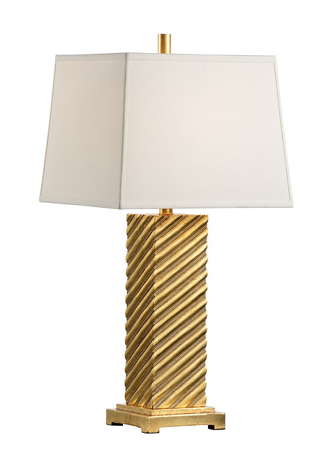 New England Lamp - Gold
