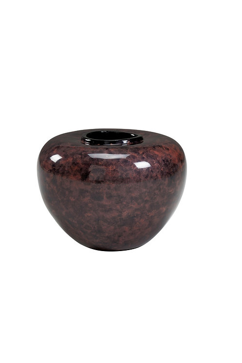 Oval Jar - Purple