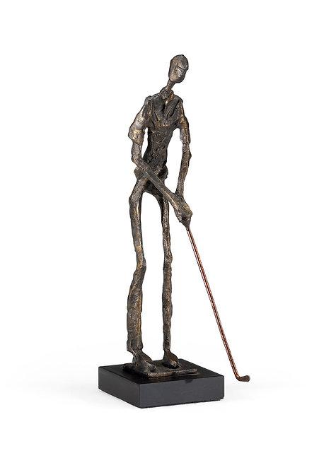 Putting Golfer