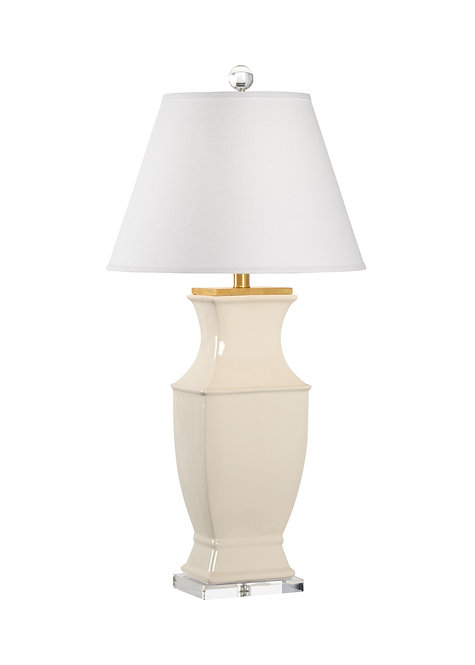 Rockville Lamp - Cream