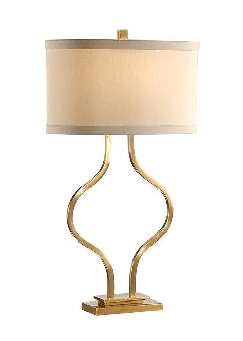 Brass Bow Lamp