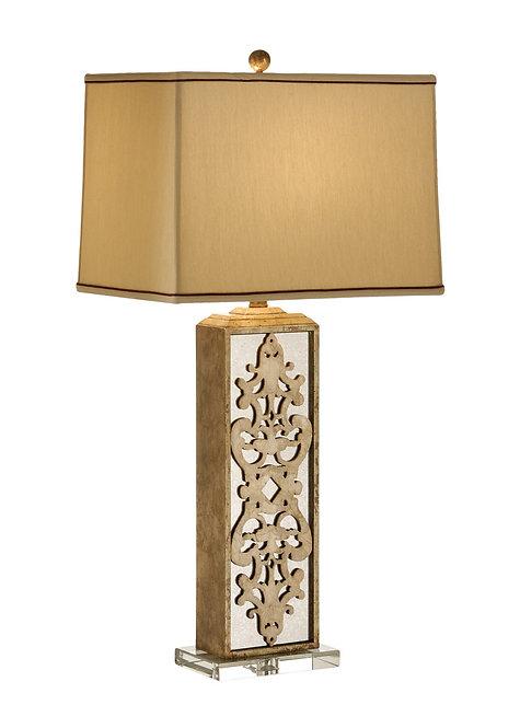 Mirrored Column Lamp