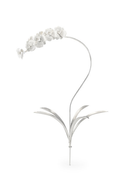 Orchid Stem - Silver (Lg)