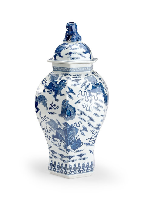 Qing Covered Urn