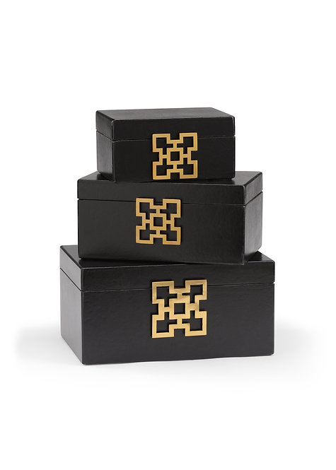 Hampton Boxes - Coal (S3)