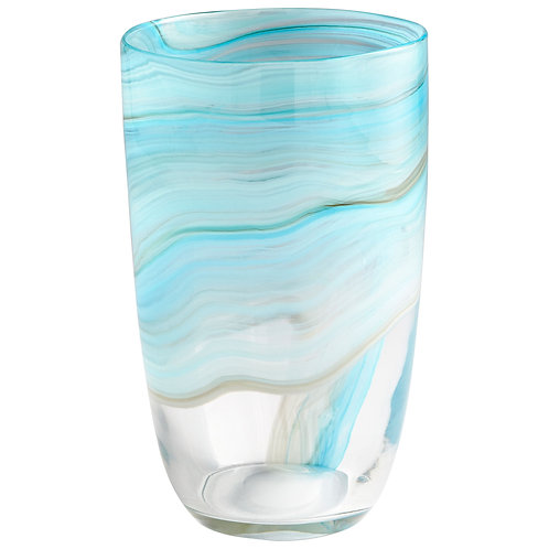 CD - Medium Sky Swirl Vase