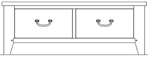 SIMMONS ARMOIRE BASE