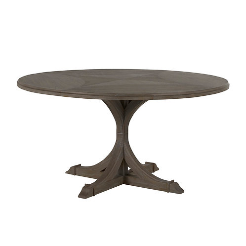 Adams Round Dining Table - Gray