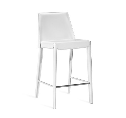 Malin Counter Stool - White