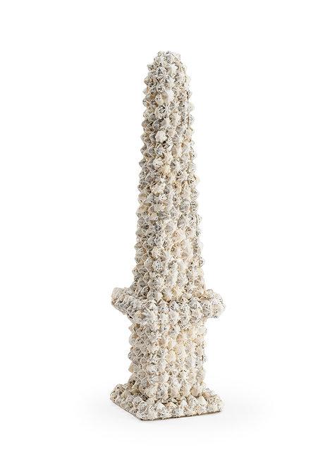White & Black Shell Obelisk