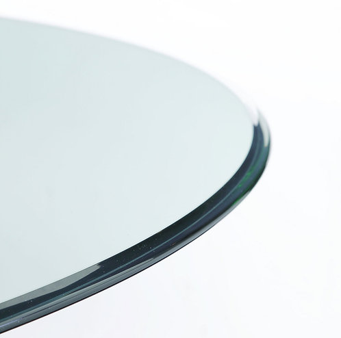 BMIS - Clear Glass 48RD Dining Top