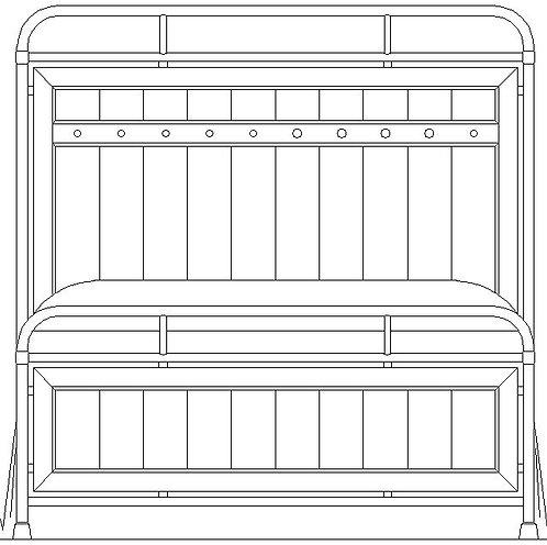 FOLSOM METAL BED HDBD 5/0
