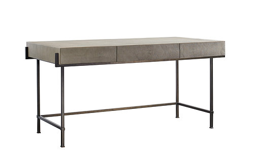 SIMONE SHAGREEN METAL DESK