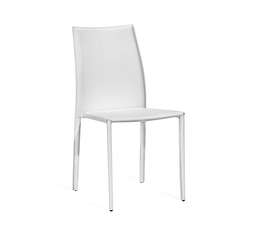 Van Stacking Chair - White
