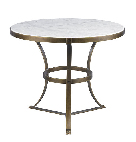 PIERS SIDE TABLE-AGED GLD