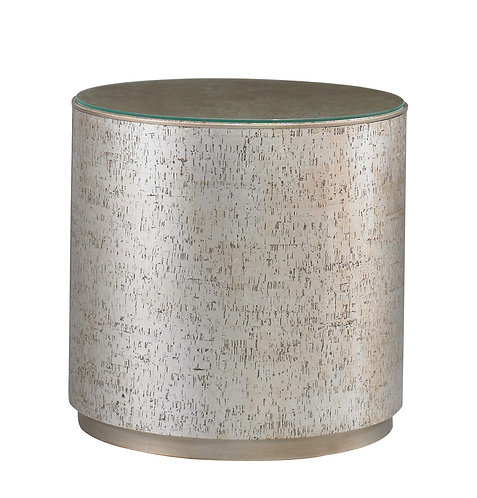 CTH -   Cork Drum Side Table