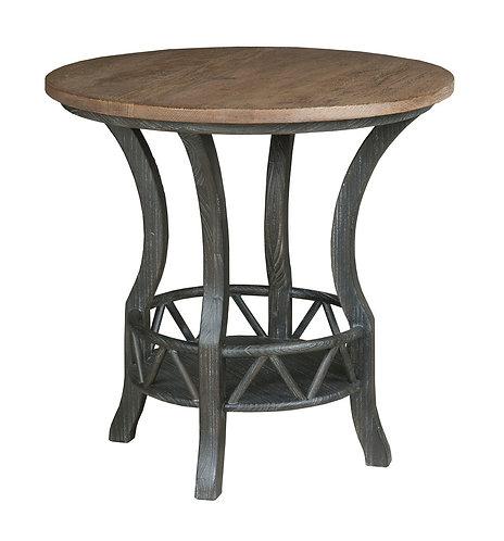 PISGAH ROUND LAMP TABLE