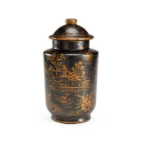 Royal Garden Covered Jar