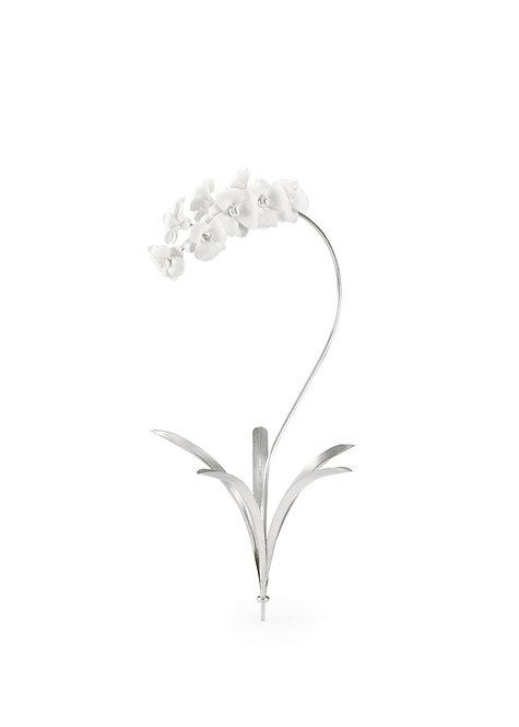 Orchid Stem - Silver (Med)