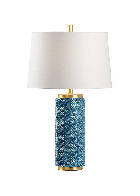 Mountain Pine Lamp - Denim