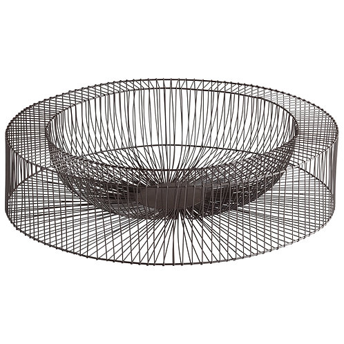 CD - Large Wire Wheel Tray