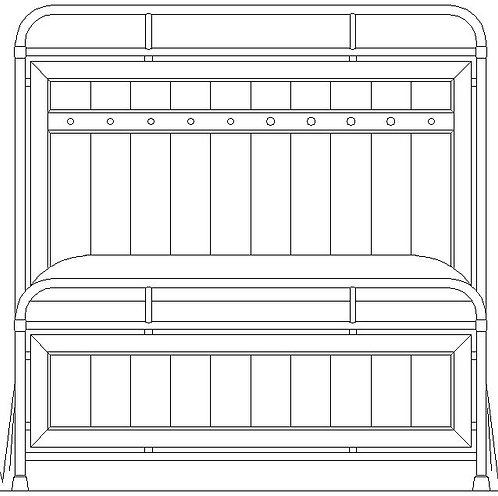 FOLSOM METAL BED HDBD 5/0