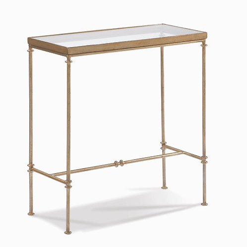 CTH - Glass Top Side Table