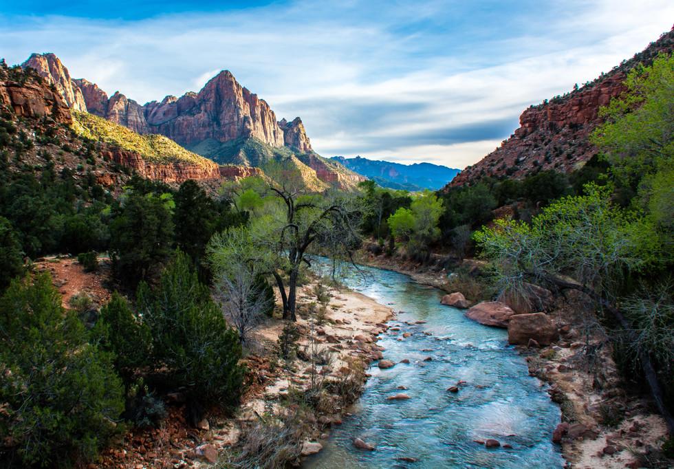 Calgary Landscape Photographer - Commercial Prints - Zion National Park Utah