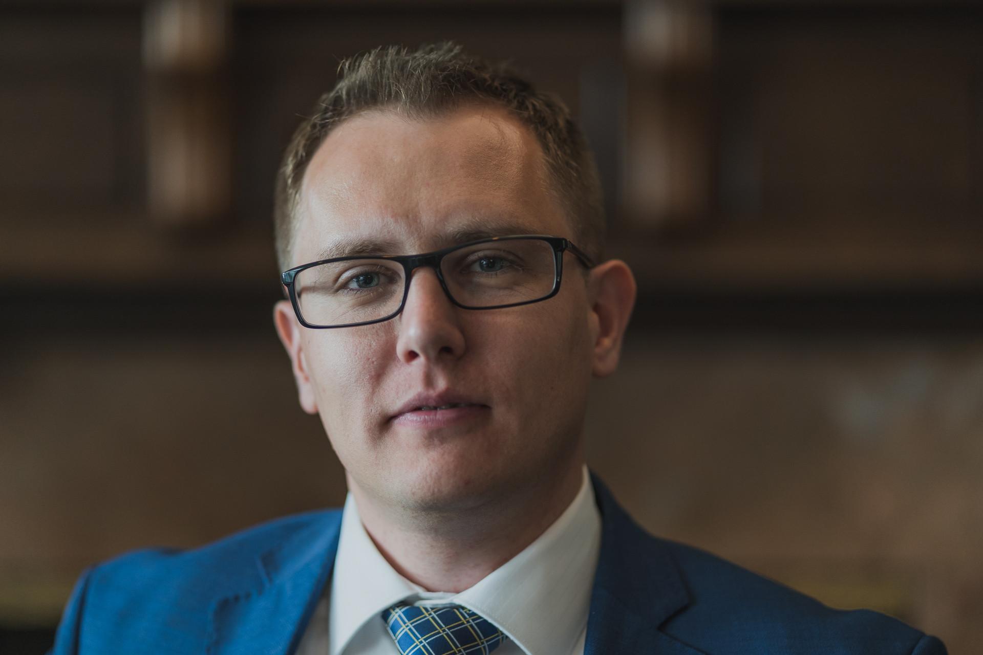 Corporate Headshot for Konstantin Kuligin