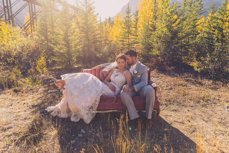 Brad and Jenny (Canmore, Alberta)