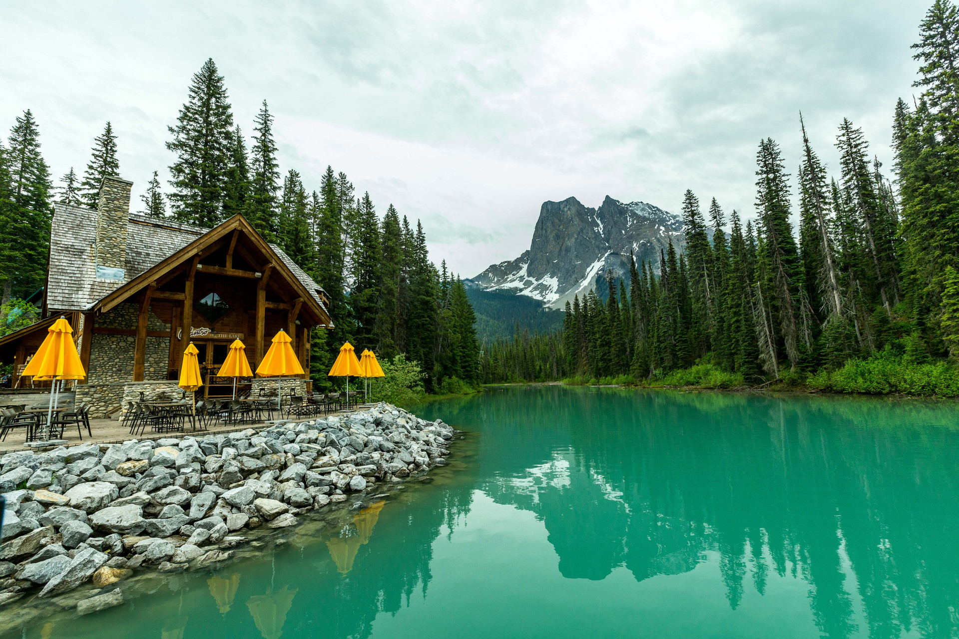 Calgary Landscape Photographer - Commercial prints - Emerald Lake British Columbia